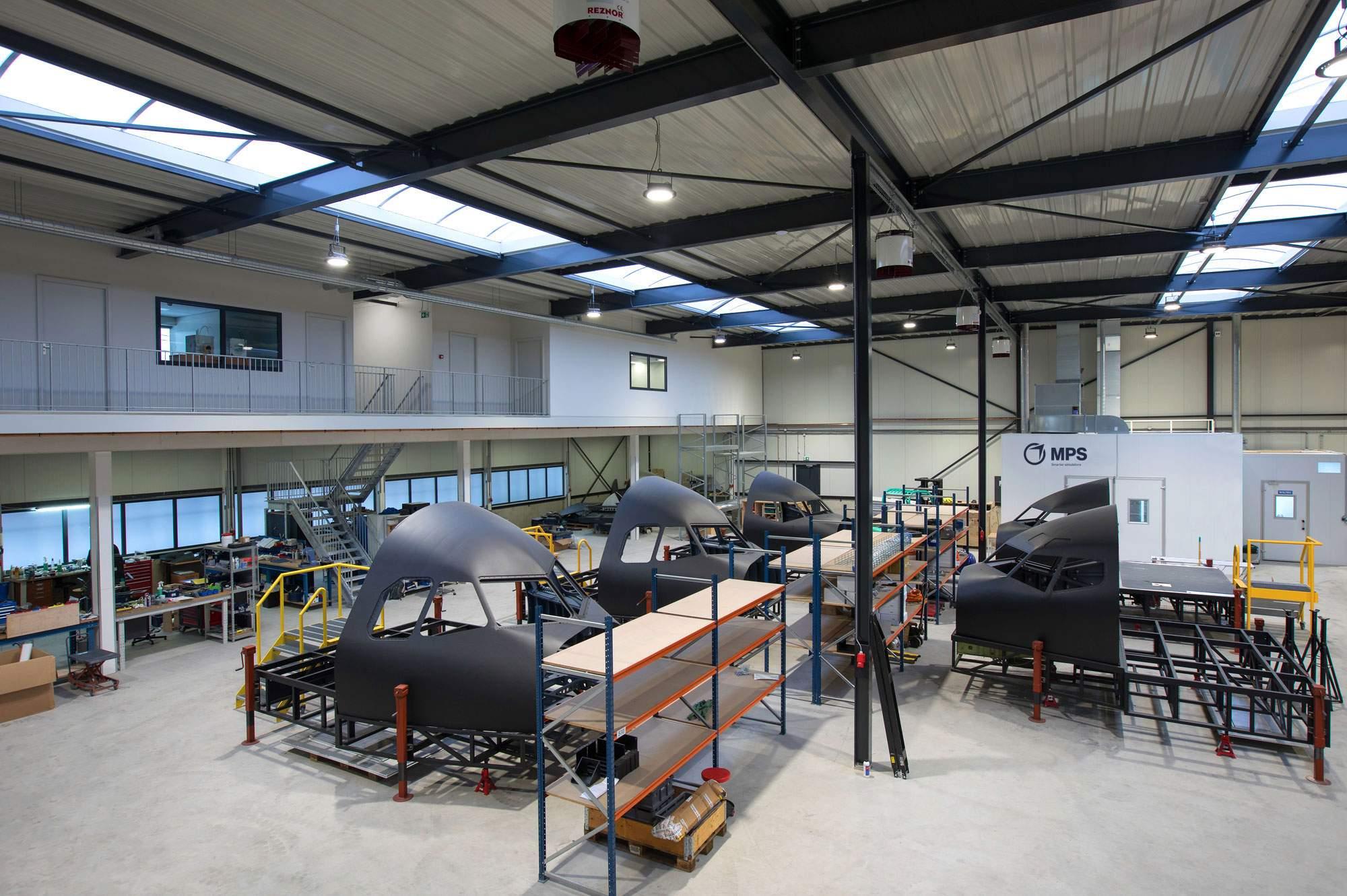 construction facility Multi Pilot Simulations Groenekan Netherlands