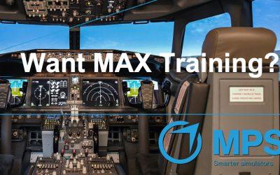 MPS installs 737 MAX FTD at Skyborne