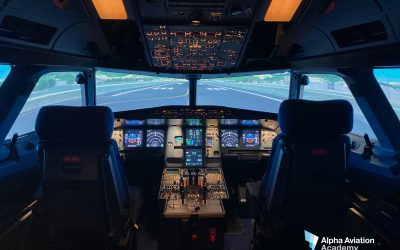MPS Installs A320 FTD-2 at Alpha Aviation Academy